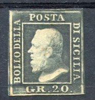 1858-SICILIA-20 GRANA-1 VAL. M.N.H. LUXE !! - Sicilia