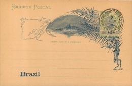 CARTE BILHETE POSTAL BRAZIL  ENTIER POSTAL - Brazil