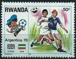 Rwanda 1978 - World Football Cup In Argentina ( Mi 946- YT 844 ) MNH** - 1978 – Argentine