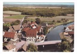 68 Illhaeusern Vue Aerienne Le Pont Et Restaurant à La Truite - Autres Communes