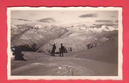 WINTERLANDSCHAFT Bei DAVOS, Panorama Von Der Parsennfurka - GR Grisons