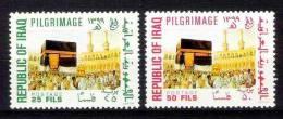 IRAQ IRAK Pilgrimage To Mecca Holy Kaaba Saudi Arabia 1979 SC# 940- 941 MNH - Iraq