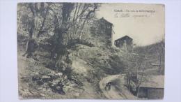 Un Coin De MOROSAGLIA 20 2B Gavignano Village Haute Corse CPA Animee Postcard - Autres Communes