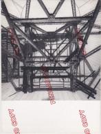 Photo Construction Radome Pleumeur Bodou 1962 Côtes D´Armor Vue Intérieure Grand Format - Luoghi
