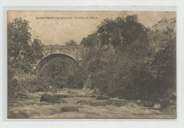 CPA  GUADELOUPE BASSE TERRE  (Les Environs) Le Pont Du Galion    Ref Tz - Basse Terre