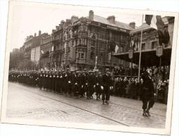 LE HAVRE CEREMONIE DU 11 NOVEMBRE 1947 BOULEVARD DE STRASBOOURG FORMAT 18 CMS SUR 13 CMS - Guerre, Militaire