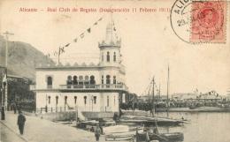ALICANTE REAL CLUB DE REGATAS INAUGURACION 11 FEBRERO 1911 - Espagne
