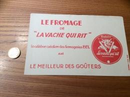 """Buvard * """"LE FROMAGE DE LA VACHE QUI RIT"""" - Produits Laitiers"""