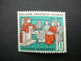 Germany Allemagne 1957 MNH #Mi. 256 Freiburg University - [7] Federal Republic