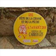 """Autocollant """"Fête De La Pêche Et De La Chasse Chateau De Carrouges 2010"""" - Stickers"""