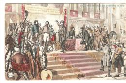 Tarjeta Postal Imagen La Junta De Cadiz En Febrero De 1810 Circulada 1909 - Storia Postale