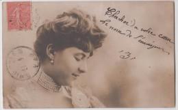 Femme - Jeune Femme Portant Un Collier De Perles - Série 1918 N° 4 - Femmes