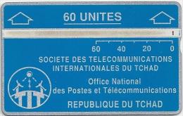 Chad - ONPT - Blue 60Units - 305D - L&G - 1993 - 20.000ex, Used - Tsjaad