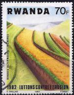 Rwanda 1983 - Fight Against Erosion ( Mi 1233 - YT 1108 ) - Rwanda
