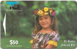 Cook Islands - Ei Katu - Matirita $50 - 02CIE - 10.000ex, Used - Isole Cook