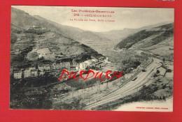 Pyrénées-Orientales - AMELIE LES BAINS - La Vallée Du Tech Côté D'Arles ...( Chemin De Fer...gare...) - Other Municipalities