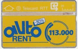 BELGIUM - Auto Rent, CN : 906D, Used