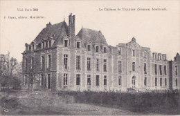Ax - Cpa Le Château De TILLOLOY Bombardé - Autres Communes