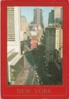 O1907 New York - Times Square - Crossroads Of The World / Viaggiata 1992 - Time Square
