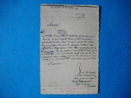 HISTOIRE  -  Lettre Anne De La Rochejaquelein S'offrant Comme Otage  - 1791 - Histoire