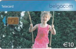 BELGIUM - Little Girl, Tirage 50000, Exp. Date 31/08/08, Used - Met Chip