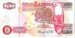 Zambia - Pick 37h - 50 Kwacha 2009 - Unc - Zambia