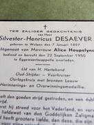 Wulpen - Eggewaartskapelle - Desaever Silvester (+1950) - Houpelyne - Religion & Esotérisme