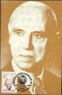 Romania / Maxi Card / Dr. Constantin I. Parhon - Medizin