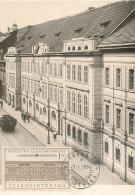 D22067 CARTE MAXIMUM CARD 1954 CZECHOSLOVAKIA - LENIN MUSEUM PRAHA CP ORIGINAL - Architecture