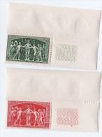 1949 - 75 ème Anniversaire De L ´UPU - Neufs- Yvert & Tellier N° 850-851 - France