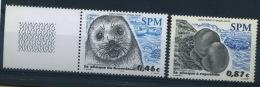 France, Saint Pierre Et Miquelon : N° 789 Et 790 Xx Année 2003 - Neufs