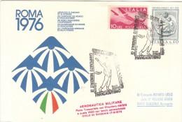 ITALIA PARACADUTISMO CAMPIONATO MONDIALE 1976 GUIDONIA - Elicotteri