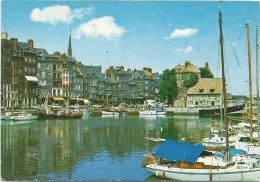 O1923 Honfleur - Le Vieux Bassin - Barche Boats Bateaux / Viaggiata 1988 - Honfleur
