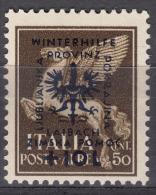 Germany Occupation Of Laibach (Slovenia) 1944 Winterhilfe Mi#40 Mint Hinged - Bezetting 1938-45