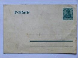 DEUTSCHLAND / GERMANY // Alte Ganzsache, Ungebraucht - Ganzsachen