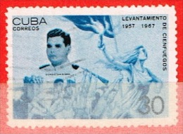 Cuba N° 1093 - 1957-1967 Levantamento De Cienfuegos - Cuba