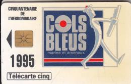 FRANCE - Addim-Cols Bleus, Tirage 7000, 07/95, Used - 5 Unidades