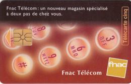 FRANCE - Fnac Telecom, Tirage 7000, 06/97, Used - 5 Unidades