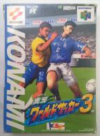 N64 Japanese : World Soccer 3 RZ006-J1 - Nintendo 64
