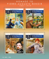 SOLOMON ISLAND 2015 ** Pierre-Auguste Renoir Paintings Gemälde M/S - OFFICIAL ISSUE - A1606 - Sonstige