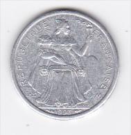 Polynésie Française - Pièce De 1 F CFP - 1993 - TTB+ - Polynésie Française