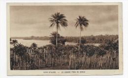 COTE D´ IVOIRE - LA LAGUNE PRES DE DABOU - CPA NON VOYAGEE - Côte-d'Ivoire