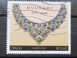 ITALIA USATI 2009 - MADE IN ITALY BULGARI - SASSONE 3081 - 1^ SCELTA - 6. 1946-.. Repubblica