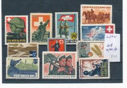 Schweiz    Lot- Soldaten Marken  (be2990 ) Siehe Scan - Labels