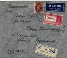 Indien Luftpost Nach Deutschland (br772  ) Siehe Scan - India