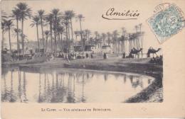 MAR- LE CAIRE EN EGYPTE  VUE GENERALE DE BEDRECHEN    CPA CIRCULEE - Cairo