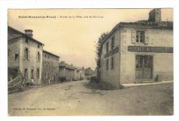 CPA 43 SAINT BONNET LE FROID Entrée De La Ville Coté De Dunieres - Sonstige Gemeinden