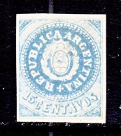 ARGENTINA  7  Reprint    * - Unused Stamps