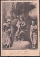 Parma Mostra Nazionale Del Correggio Aprile/Ottobre 1935 - XIII Madonna E Santi Raccolta Del Marchese Crombelli Milano - Paintings