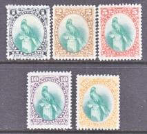 GUATEMALA  21-5    *  1881 Issue - Guatemala